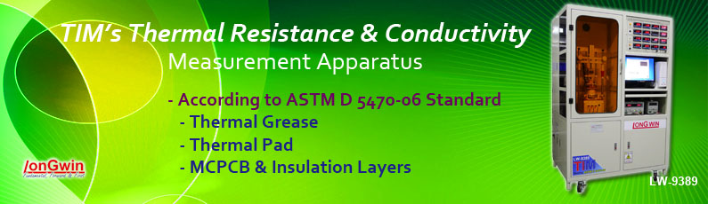 ASTM D 5470-06 standard, for thermal interface meterial, thermal resistance and thermal conductivity