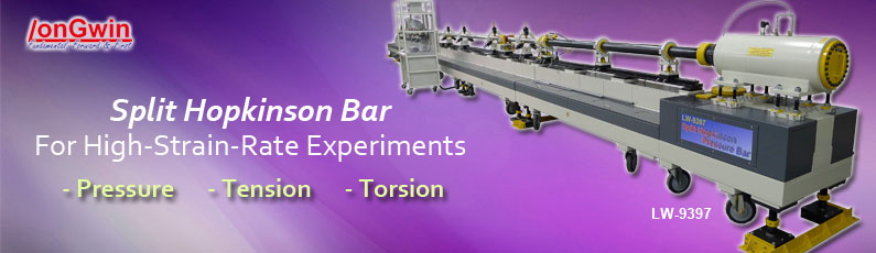 high strain rate experiments, split hopkinson pressure, tension and torsion bar testers
