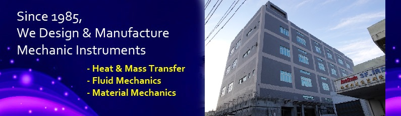 Long Win design and manufacture mechanic instruments, mass and heat transfer, fluid mechanics and material mechanics