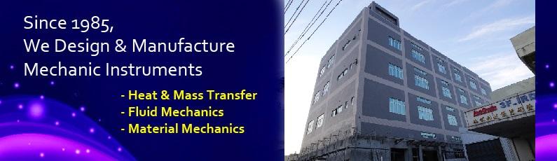 Long Win design and manufacture mechanic instruments, mass and heat transfer, fluid mechanics and material mechanics