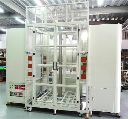 LW-9022CC Natural Convection Chamber and Breeze Generator - A test facility for vertical thermal module
